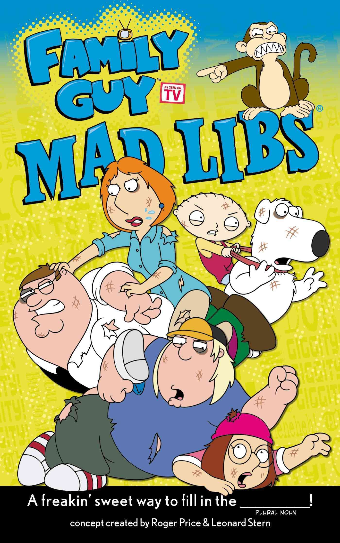 Family Guy Mad Libs By Price, Roger/ Stern, Leonard